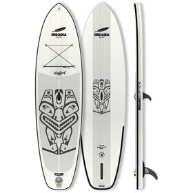 Indiana SUP 10'6 Windsurf Opblaasbare SUP, white/grey